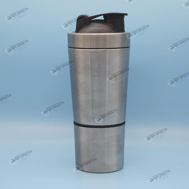 Шейкер silver 700мл